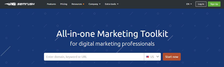 semrush-online marketing tool