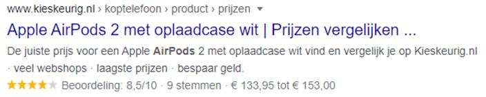 zoekresultaat-met-rich-snippet-google
