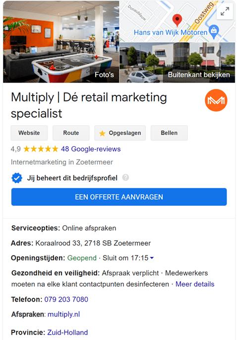 Google-Mijn-Bedrijf-profiel